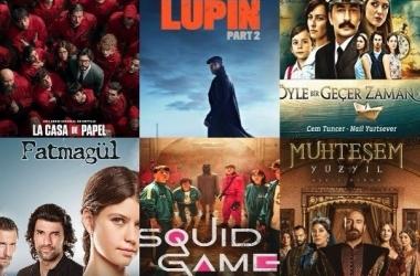 6 مسلسلات حققت أعلى نسب مشاهدة في العالم