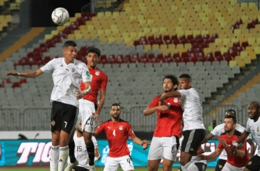 طاقم حكام كونغولي لإدارة مباراة أنجولا ومصر