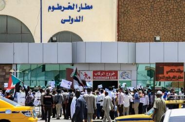 تعليق الرحلات القادمة والمغادرة من مطار الخرطوم حتى 30 أكتوبر