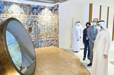 فيديو | محمد بن راشد آل مكتوم يزور جناح مصر في إكسبو دبي 2020