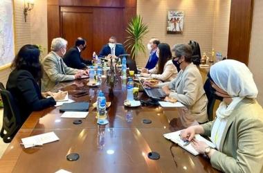 وزير السياحة يبحث مع بيت الخبرة الإيطالي تطوير المزارات المصرية بعد كورونا